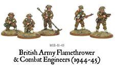 Bolt Action BNIB British Combat Engineers & Flamethrower Team WGB-BI-49
