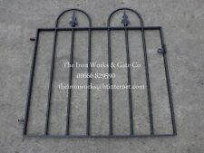 "SAXON-HOOP METAL GARDEN GATE 36"" OP x 3ft TALL QUALITY MADE TO MEASURE BESPOKE"