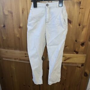 Boys Zara Age 7/8 Linen Trousers