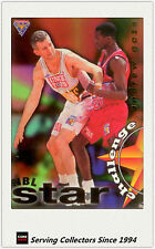 1995 Futera NBL Trading Cards Star Challenge #4: Andrew Gaze