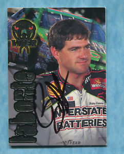 SIGNED 1996 Wheels Viper #8 Bobby Labonte - Autographed Card NASCAR Auto