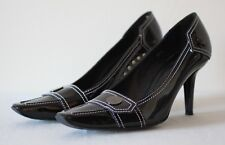 Tod's Black Patent Leather Heels EU 38.5