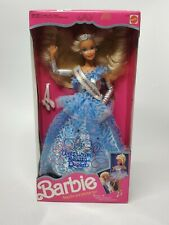 Vintage American Beauty Queen Barbie Doll 1991 Mattel (Nrfb)
