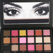 NEW Huda Rose Gold Edition Textured Eye Shadows Palette Beauty 18 Colours