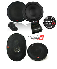 XED650C 6.5-Inch 300 Watts Max 2-Way Component Speaker Set W/ XED693 350W 6 x 9