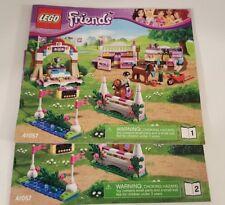 Lego Friends 41057 Heartlake Horse Show - 100% COMPLETE!!