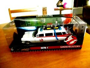 Jada Hollywood Rides Ghostbusters Ecto 1 Die Cast 1/24 Scale SEALED