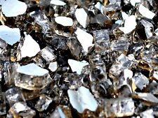 "10 Lbs 1/2"" FireGlass Bronze Reflective, Fireplace,Fire Pit Glass Rocks Crystals"