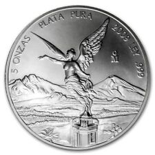 Beautiful 2009 Mexico  5 OZ SILVER LIBERTAD PROOF In Mint Condition