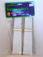 White Men's Woman's Suspenders Christmas Wedding Day Halloween Rubies Costume