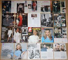 ISABEL SARTORIUS lote prensa 1990s/00s King Felipe Royalty Spain clippings fotos