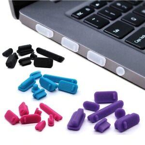 13pcs/set Colorful Silicone Anti Dust Plug Port Stopper Laptop dust plug laptop
