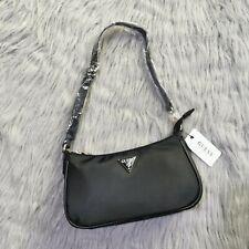 Новый стиль подмышки сумка нейлоновая ткань через плечо, сумочка, модная сумка багет