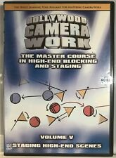 Hollywood Camera Work Master Course In Blocking & Staging DVD Vol 5 *Very Good*