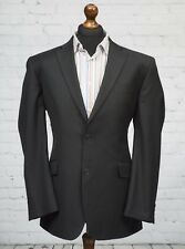 Burtons Grey Pinstripe Single Breasted Suit Jacket 44R