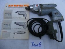 1x Duss-Duax Bohrmaschine ZSS 8II 220V 350W ex Bundeswehr (Dua6)