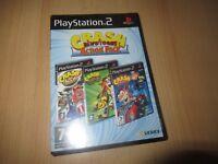 Crash Bandicoot Action Pack - Nitro Kart Twinsanity Tag Team - PS2 Playstation 2