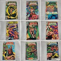 (Lot Of 15) Ka-Zar The Savage No. 2, 3, 7, 8, 10-13, 21, 27, 29-33 Marvel Comics