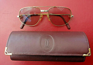 Cartier Brillengestell mit Gläser