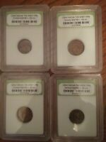 ANCIENT ROMAN COIN LOT SLABBED AND UNCLEANED