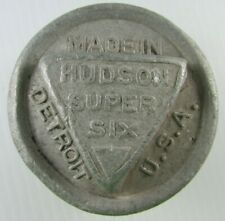 Vintage Aluminum  HUDSON SUPER SIX  Threaded Hub Cap  Detroit USA