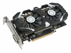 MSI GeForce GTX 1050 TI 4GB OC GDDR5 Graphics Card