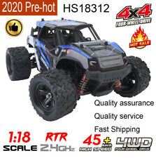 HS18312 1/18 4WD 45KM/H High Speed RC Car 2.4Ghz Off Road RC Truck Off Road Car❤