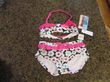 b0e993d29d8 Breaking Waves girl s 12 DAISY swim suits wear B971024 ruffles 2 pc bikini  NWT