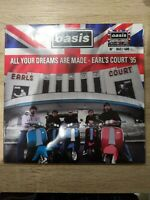 Oasis All Your Dreams Are Made Earls Court Red Vinyl Super Rare Brand New Sealed