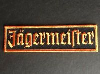 "Jagermeister Racing Patch Badge 1"" x 5"""