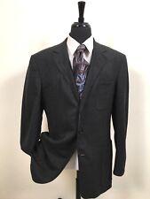Ermenegildo Zegna Gray Stretch Sport Coat Blazer Jacket Surgeon Cuffs Men's 40 R