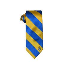 Alpha Phi Omega Striped Crest Design Tie Standard Width APO