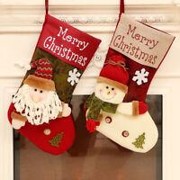 PT_ Cn _ Grande Babbo Natale Calze Ornamenti Festa Albero di Decorazione da