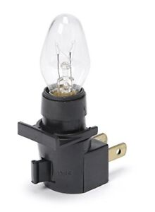 Darice Black Night Light with on/off switch and Clear Bulb #6204-01