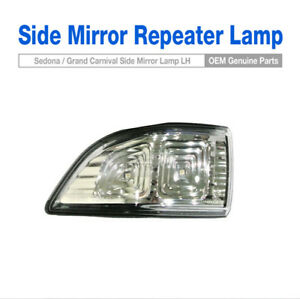 OEM Parts Side LED Mirror Repeater Lamp Assy LH For KIA 2011-14 Sedona Carnival
