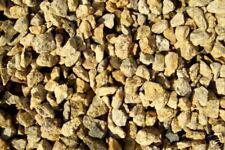 480 kg Granit Splitt Zierkies Gelb Zen Garten 8/11 mm