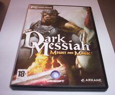 DARK MESSIAH might and magic gioco pc originale ITA completo game computer c.o