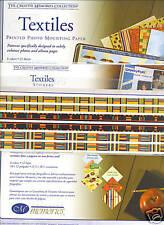 Creative Memories Textiles Printed Paper Pack