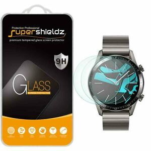 3X Supershieldz Tempered Glass Screen Protector for Huawei Watch GT 2 (46mm)