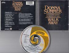 Donna Summer CD WALK AWAY (c) 1984  YELLOW FIRST PRESS