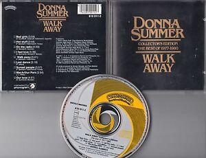 Donna Summer CD WALK AWAY  ©  1984  YELLOW FIRST PRESS