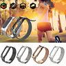 For Xiaomi Mi Band 2 Smart Bracelet Stainless Steel Watch Band Strap Metal Du
