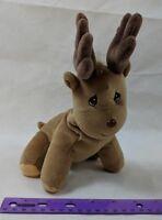 Precious Moments Tender Tails Deer Moose Elk Reindeer Plush Stuffed Enesco