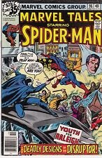 1978 Marvel Tales Comic Book #96 Featuring The Amazing Spider-Man