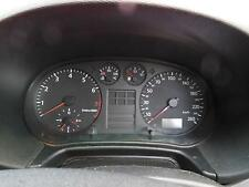 AUDI A3 INSTRUMENT CLUSTER, MANUAL T/M TYPE, 05/97-05/04 97 98 99 00 01 02 03 04