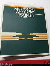 Microsoft Applesoft Compiler System für Apple II Plus Iie Old Vintage