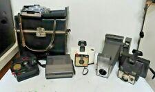 Vintage Polaroid camera lot 6 Spectra land cam big shot square shooter auto 100