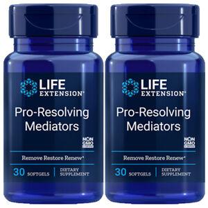 Life Extension Pro-Resolving Mediators 2X30gels hydroxydocosahexaenoic acid