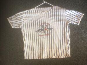 Tonsurton Oversized Mens Vintage 1980s rave T-shirt-Size large rare vgc
