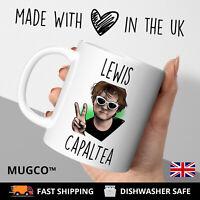Lewis Capaltea Inspired Mug Birthday Joke Gift Him Her Novelty Funny Xmas